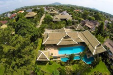 Villa1 - Front Aerial View