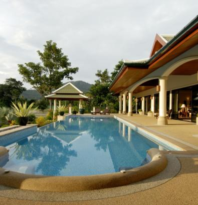 Main Pool & Terrace