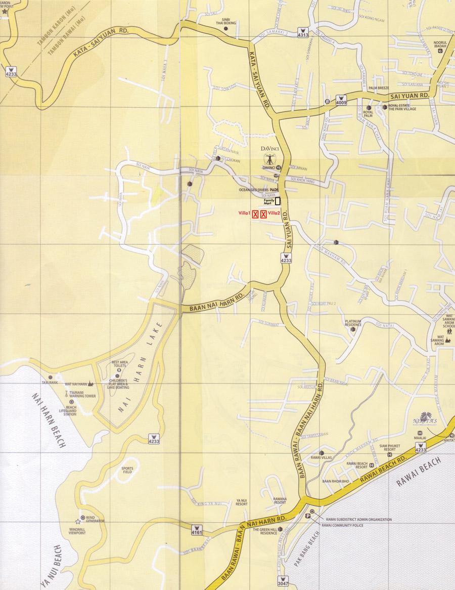 Villas - Locality Map