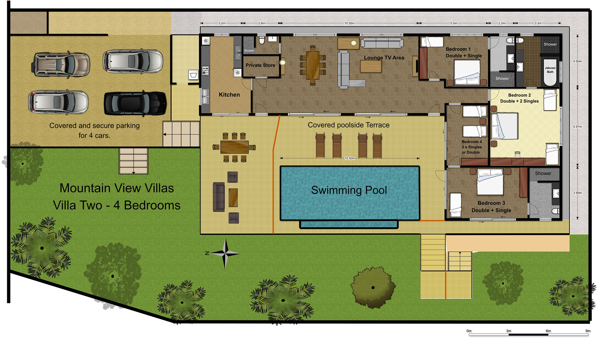 Villa-2 Floorplan